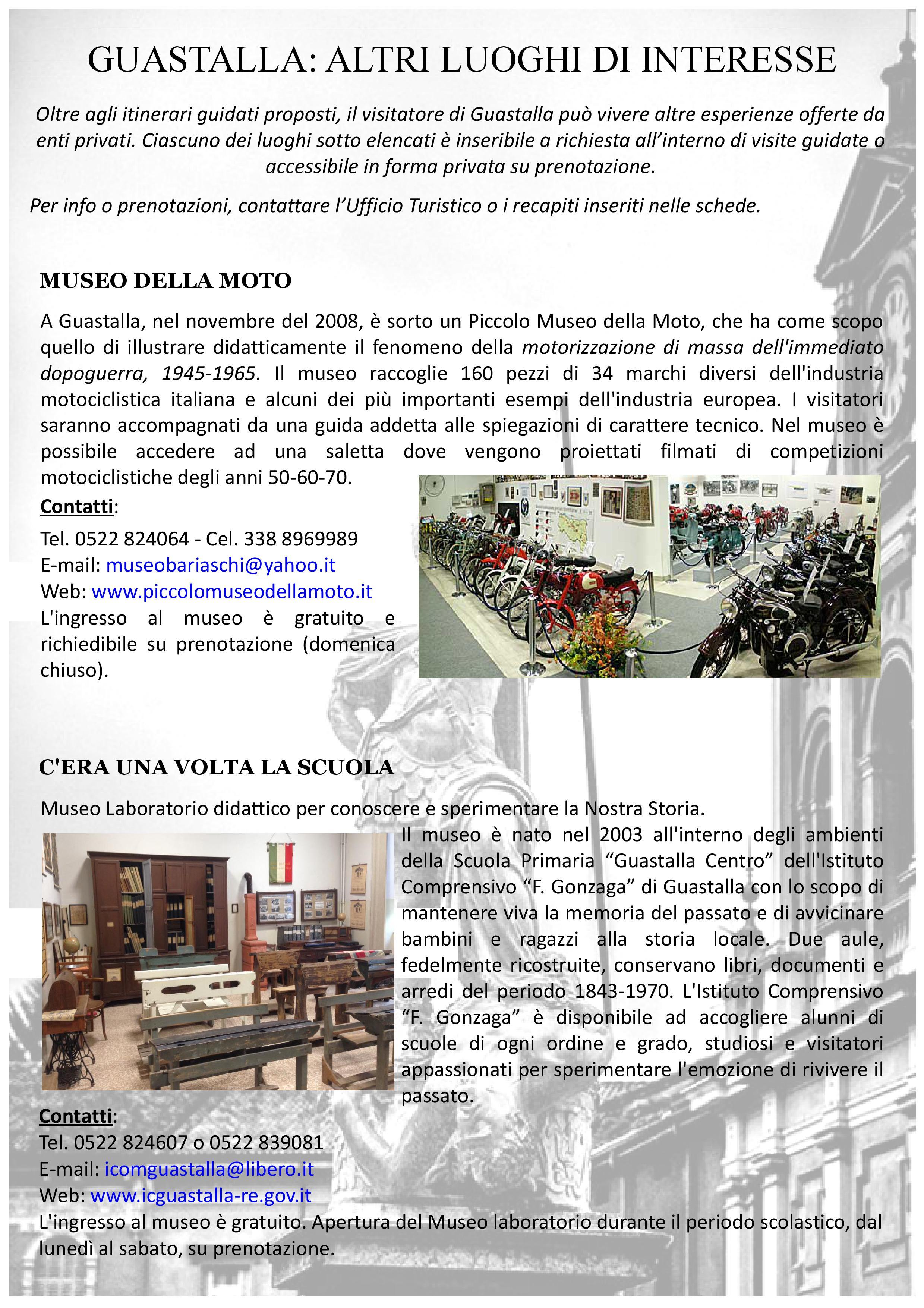 Altri Luoghi di interesse_Museo Moto_Museo Scuola